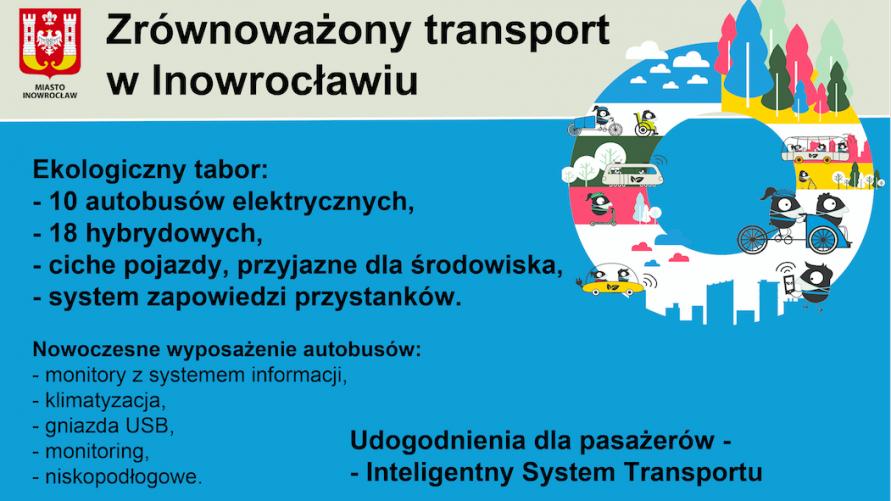 Zrównoważony transport w Inowrocławiu