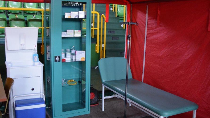 Punkt szczepień gotowy, czekamy na szczepionki